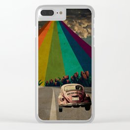 Trip to the Dreams Clear iPhone Case