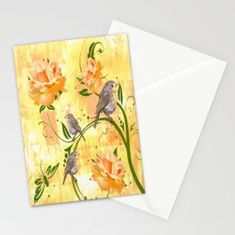 The Sparrow's Melody Stationery Cards
