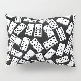 Black and white domino seamless pattern Pillow Sham