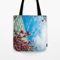 dc Tote Bags featuring DC Blooms! by Ashley Hirst Photography
