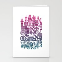 castle Stationery Cards featuring Castle Mama by C86 | Matt Lyon