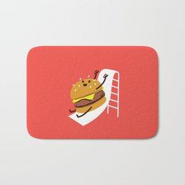 Slider Burger Bath Mat