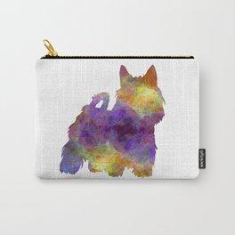 Australian Silky Terrier in watercolor Carry-All Pouch