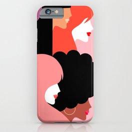 Girl Power we persist  #girlpower iPhone Case