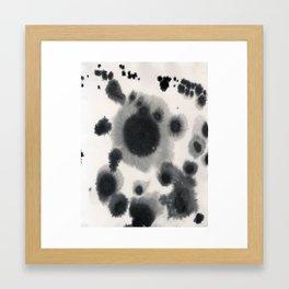 Dot Study Framed Art Print