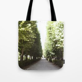 The Garden Paths in France Tote Bag