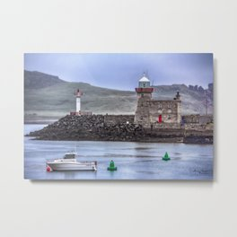 Howth Harbour 2 Metal Print