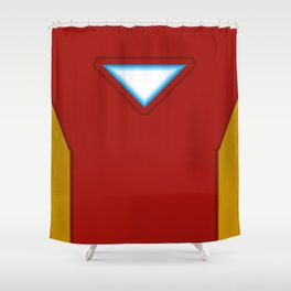 Armored Hero Shower Curtain