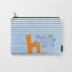 h for hippo Carry-All Pouch