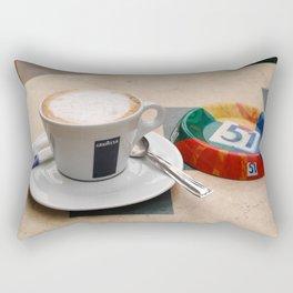 Cafe and Ashtray Paris Rectangular Pillow