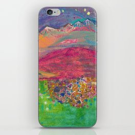 Twilight at Rock Candy Mountain iPhone Skin
