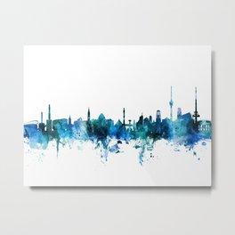 Stuttgart Germany Skyline Metal Print