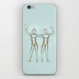 Gemini iPhone Skin