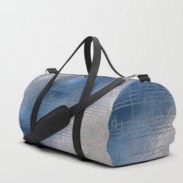 Silver music Duffle Bag