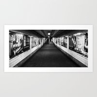 New York T station Art Print