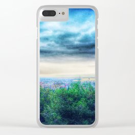 View on Thessaloniki harbour Clear iPhone Case