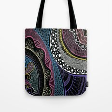 Doodle cross the night Tote Bag