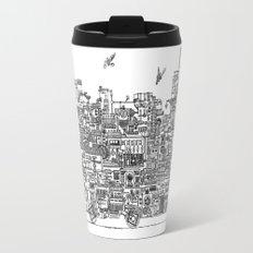 Busy City – On Your Bike Travel Mug