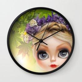 Erregiro Blythe Custom Doll SPRING TIME Wall Clock
