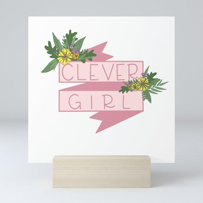 Clever Girl Mini Art Print