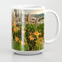 Pittsburgh As Seen from Mt Washington Observation Deck Coffee Mug