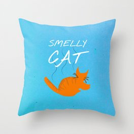 Friends 20th - Smelly Cat Throw Pillow