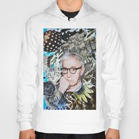 woody allen Hoodies featuring Woody Allen by John Turck