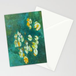 Serene Lotus Pond Stationery Cards