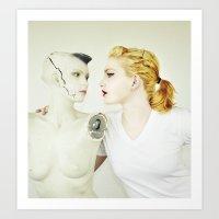 Laura + Fiona I  Art Print
