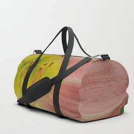 Peaches and Cream Lily Duffle Bag
