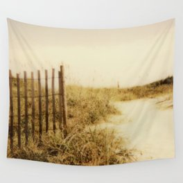 Florida Beaches - Polaroid Wall Tapestry