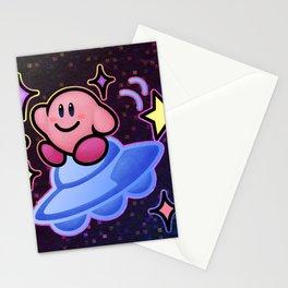 Kirby UFO (no text) Stationery Cards