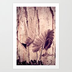 Tree Leaves Art Print