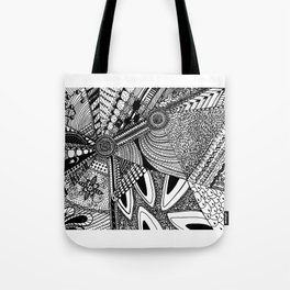Geometrical abstraction Tote Bag