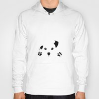 puppy Hoodies featuring Puppy by Kristijan D.