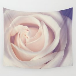 An Offering White Rose Wall Tapestry