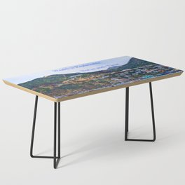 """""""Catalina Harbor""""/ """"Time"""" Coffee Table"""