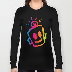 ROBOT stripes Long Sleeve T-shirt