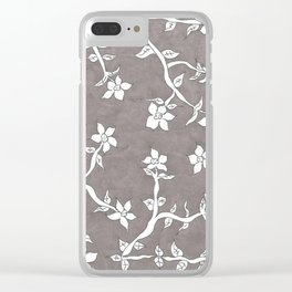 Haunting Beauty Clear iPhone Case