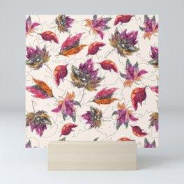 Maple Pattern Mini Art Print