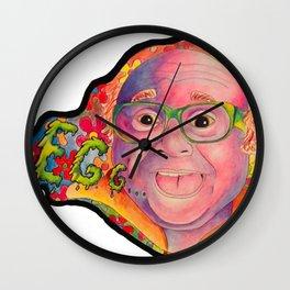 FRANK REYNOLDS EGG Wall Clock