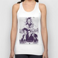twin peaks Tank Tops featuring Twin Peaks by Young Napoleon