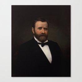 President Ulysses Grant Painting Canvas Print