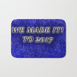 We Made it to 2017! Bath Mat