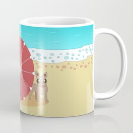 Holiday Romance - Behind the Red Umbrella Coffee Mug