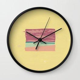 Horizons I Dunno Wall Clock