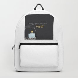 Be a light Backpack