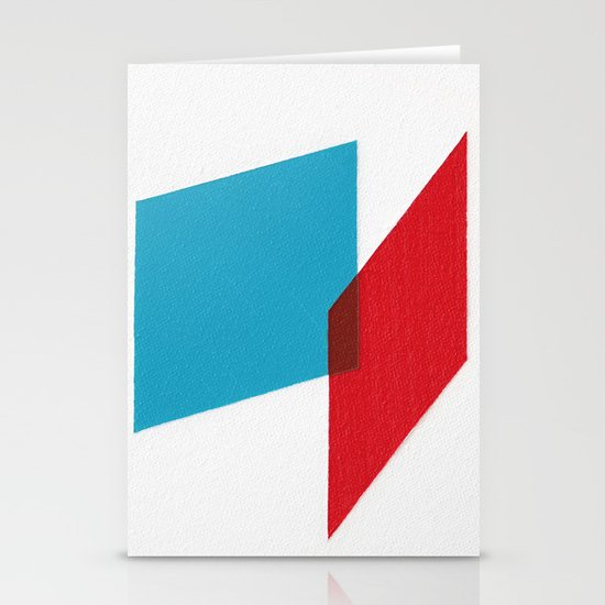 Anaglyph Stationery Cards