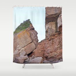 Indian Head Mountain Shower Curtain