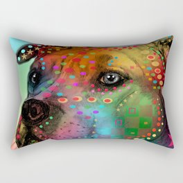 dog Rectangular Pillow